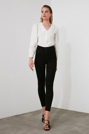 TRENDYOLMİLLA Siyah Yüksek Bel Skinny Jeans TWOAW21JE0251