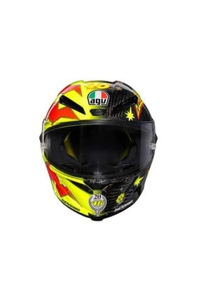 AGV Pista Gp R Limited Edition Plk Rossi 20 Years Carbon Kapalı Kask