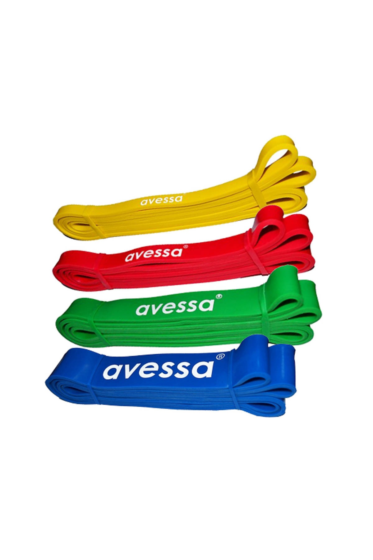 AVESSA Latex Güç Bandı Direnç Lastiği Yeşil Lpb32 2