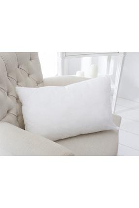 English Home Silikonlu Kırlent Kılıfı Yastık 35x55 Cm Beyaz