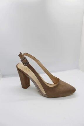 zeynep Kadın Vizon Topuklu Ayakkabı