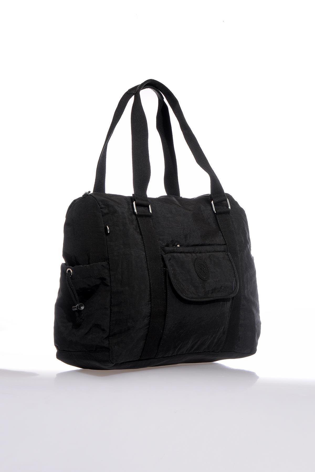 Barcelona Brck3040-0001 Siyah Kadın Omuz Çantası 2