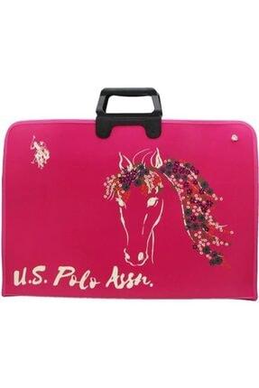 U.S. Polo Assn. Kadın Pembe Çizim Çantası