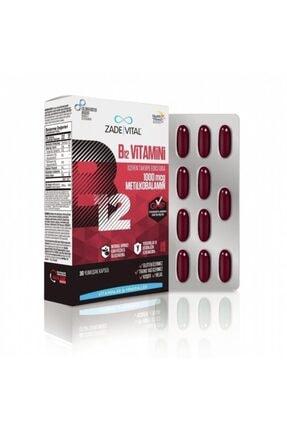 Zade Vital B12 Vitamini 30 Yumuşak Kapsül