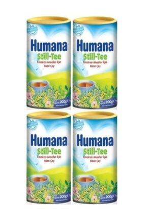 Humana Still Tee Çay 4'lü Set 200 Gr Emziren Anneler