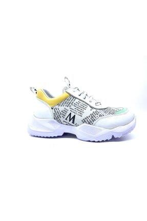 MOTTİ KİDS CLUB Hakiki Deri Maxim Kız Çocuk Spor Ayakkabı