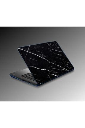 Jasmin2020 Notebook Laptop Sticker Kaplama Siyah Mermer