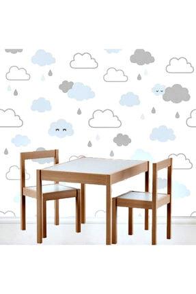 Mofy Baby Ahşap Oyun Ve Aktivite Masası 2 Sandalyeli