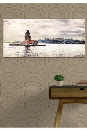 Hediyeler Kapında 60x120 Kız Kulesi Duvar Kanvas Tablo