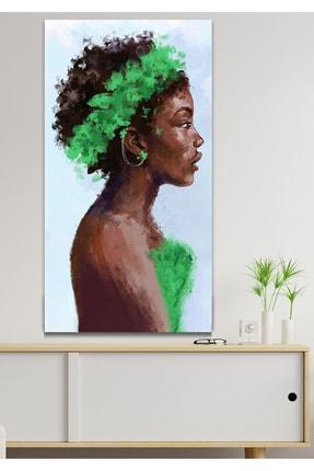 Hediyeler Kapında 60x120 Black Dream Duvar Kanvas Tablo