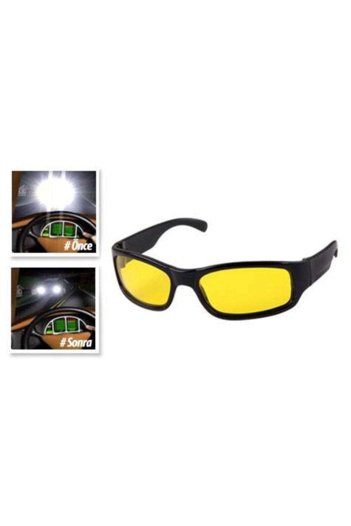 Çokuygunuz Araç Kullanımına Uygun Gece Görüşlü Gözlük 2