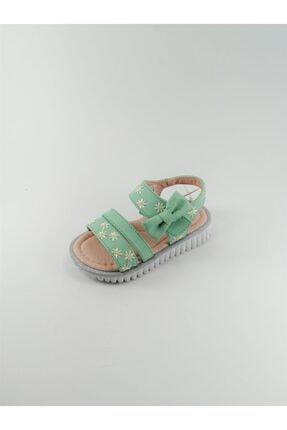 Vicco Kız Çocuk Yeşil Sandalet
