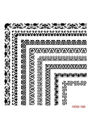 Cadence Stencil (şablon) 25x25cm
