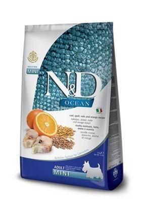 N&D Ocean Düşük Tahıllı Balık Portakallı Mini Irk Yetişkin Köpek Maması - 2.5 kg