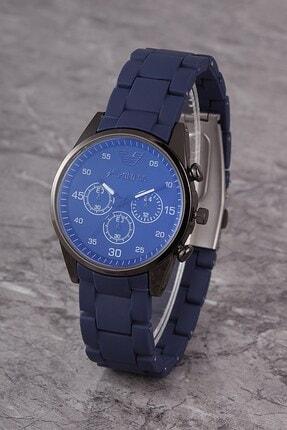 Polo55 Plks001r03 Kadın Saat Dekoratif Göstergeli Kadran Silikon Kordon