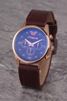 Polo55 Plkk014r01 Kadın Saat Dekoratif Göstergeli Kadran Deri Kordon