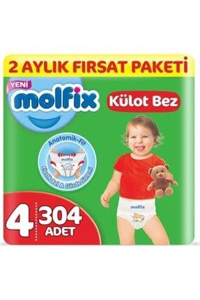 Molfix Külot Bez 4 Beden Maxi 9-14kg 76x4:304 Adet