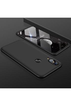 Huawei Y7 Prime 2019 360 Tam Koruma Kapak 3 Parça Slim Fit