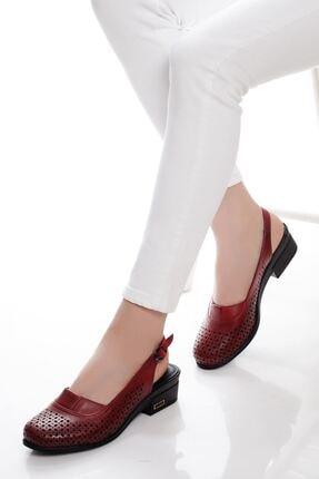 derithy -klasik Ayakkabı-kırmızı
