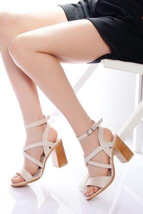 derithy -klasik Topuklu Ayakkabı-bej