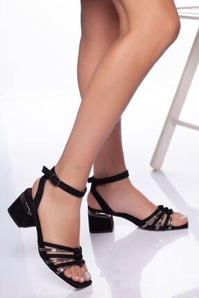 derithy -klasik Topuklu Ayakkabı-siyah Platin