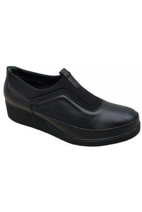 Nehir Hakiki Deri Üçel 1013 Ortopedik Kadın Ayakkabı