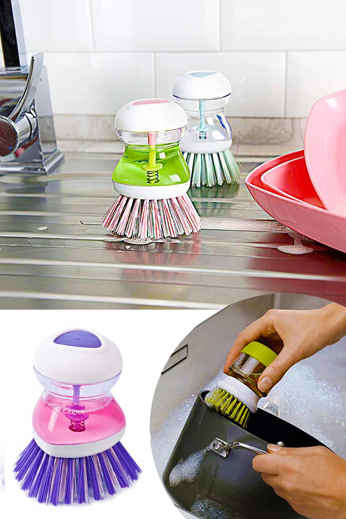 Helen's Home Deterjan Hazneli Bulaşık Fırçası