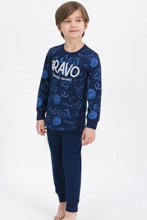 ROLY POLY Erkek Çocuk Lacivert Who Me Bravo Pijama Takımı