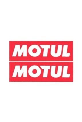Motul 2 Adet Sticker 20 X 5,5cm Yağ Sticker
