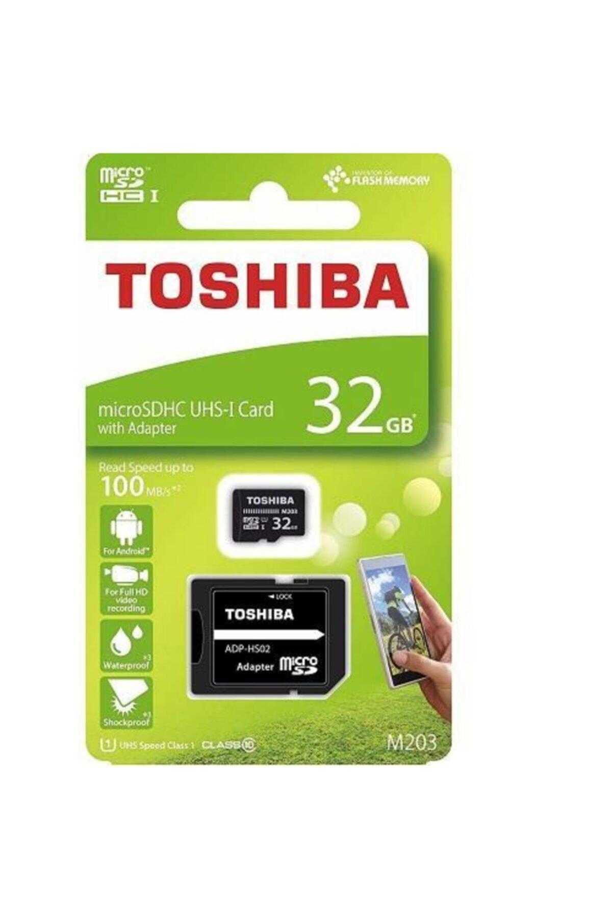 Toshiba 32gb Micro Sdhc Uhs-1 Thn-m203k0320ea Bellek Kartı 1