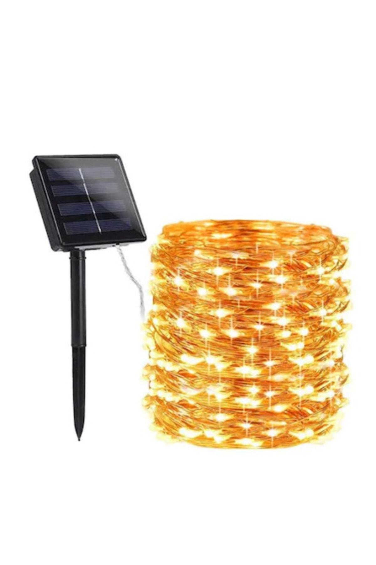 LEDREYON 5 Metre Güneş Enerjili Dış Mekan Peri Ip Led Işık Dekoratif Aydınlatma Solar Led 1