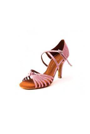 DANS AYAKKABISI Kadın Pembe Ambrossia Topuklu Ayakkabı
