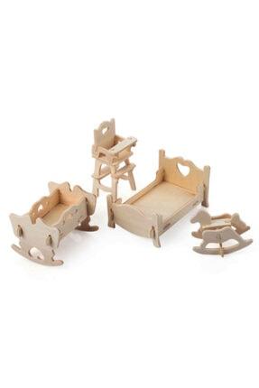 rennway 3d Ahşap Puzzle - Çocuk Odası