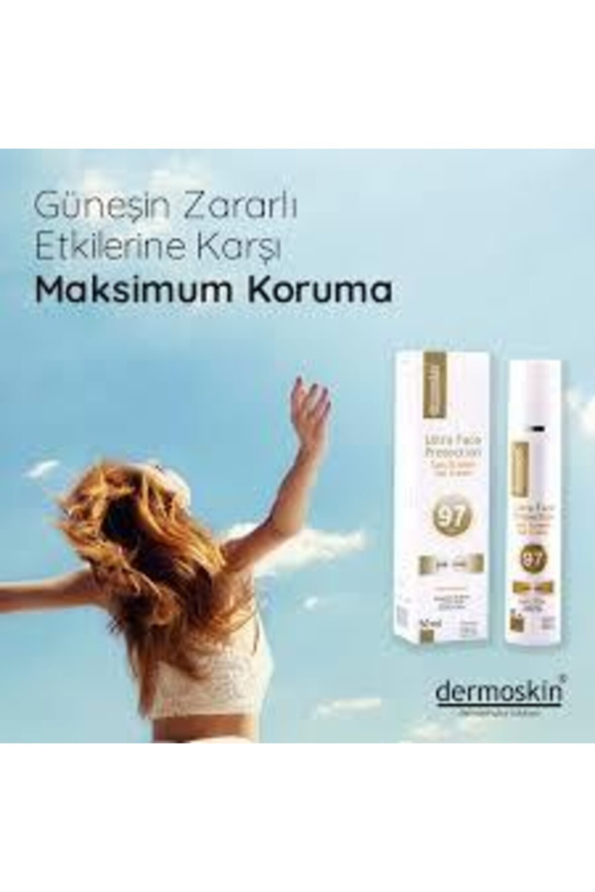 Dermoskin Ultra Face Protection Sun Screen Gel Cream Spf97 50 Ml 2