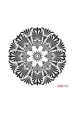 Cadence Mandala Stencil (şablon) 25x25 Cm