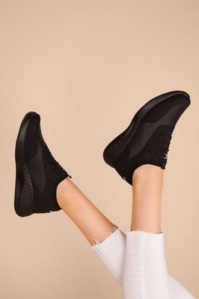 SOHO Siyah-Siyah Kadın Sneaker 15226