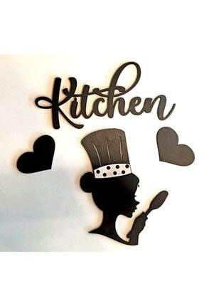 Kaya Hediyelik Aşçı Bayan Mutfak Dekoru