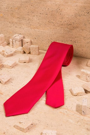 Pierre Cardin Erkek Kırmızı Kravat A021SZ090.IN1.K20PBSC1
