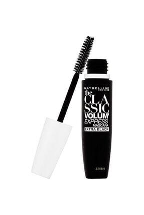 Maybelline New York Hacim Veren Siyah Maskara - Volum' Express Classic Extra Black Mascara 3600531516512