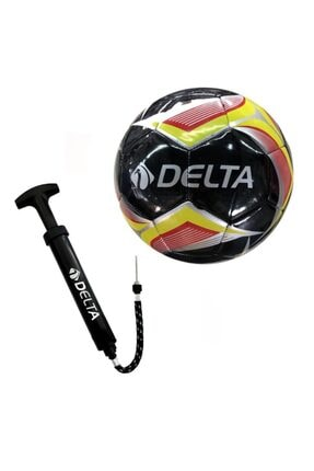 Delta Lena 5 Numara Dikişli Futbol Topu + Top Pompası