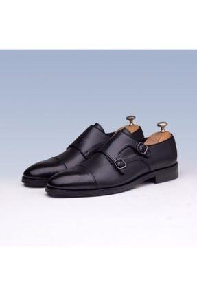 İBAY Costa Erkek Siyah Hakiki Deri Klasik Ayakkabı 2379