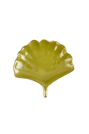 Karaca Ela Ginko Yaprak Yeşil