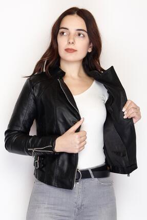 Haydigiy Deri Ceket Siyah - 1003.146.