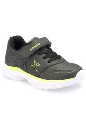 Kinetix Skorty Haki Lime Erkek Çocuk Spor Ayakkabı