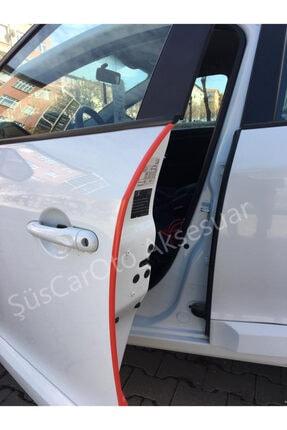 ŞüsCarOto Samurai Araç Kapı Koruma Fitili Çarpma Çizik Önleyici Kırmızı