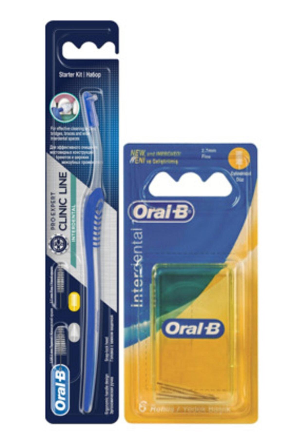 Oral-B Oral B Interdental Arayüz Fırçası + Arayüz Yedek 2.7mm 6'lı Paket 1