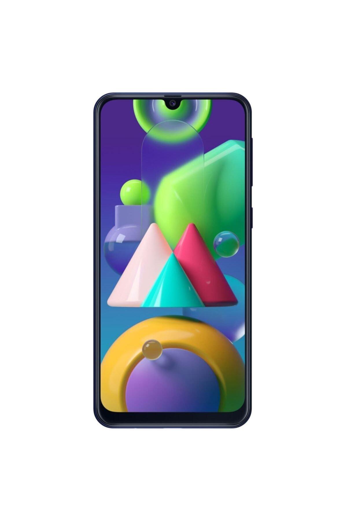 Samsung Galaxy M21 64GB (Çift SIM) Mavi Cep Telefonu (Samsung Türkiye Garantili) 1