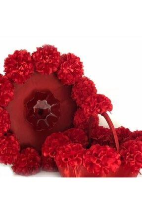 Hobigram Kırmızı Kına Sepeti ks-1079