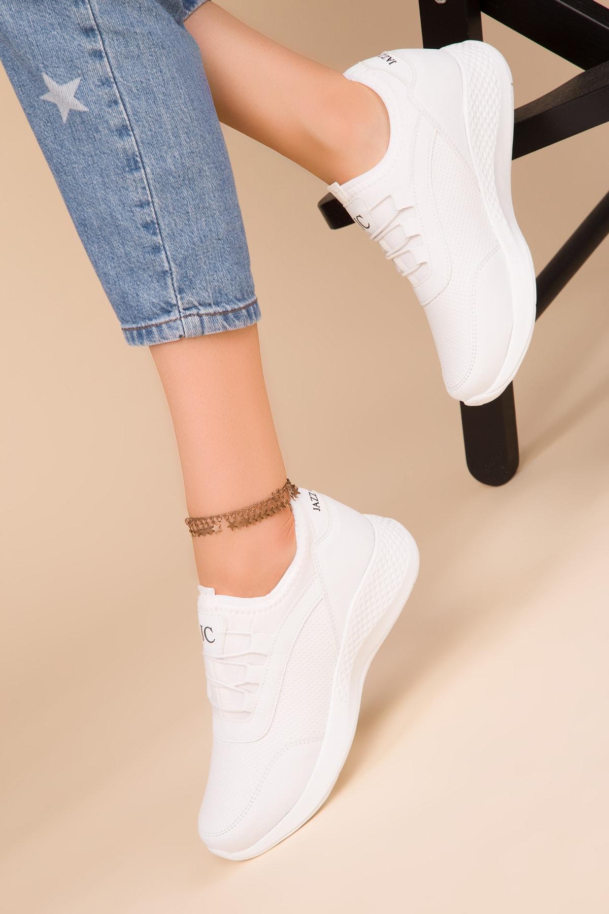 SOHO Kadın Beyaz Sneaker 15226 2
