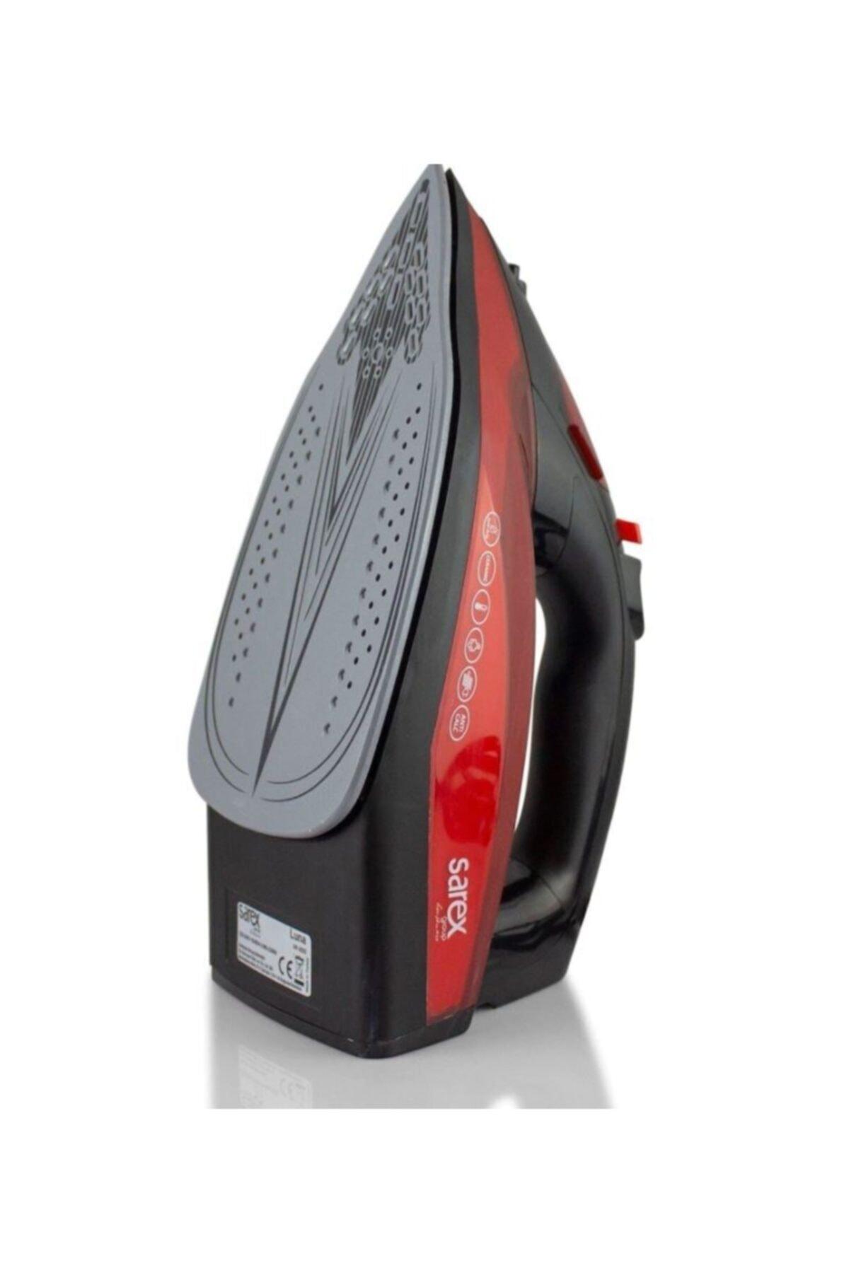 Sarex Kırmızı Luna Buharlı Ütü 2200 W  Sr3500 2
